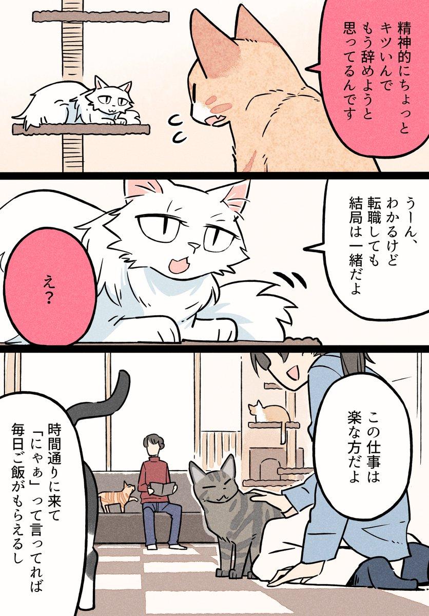 つまらない仕事を辞めた猫の話③