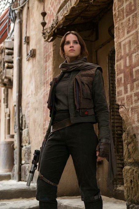 Happy Birthday Jyn Erso herself, Felicity Jones! We are all Rebels, aren t we? She Rebels!