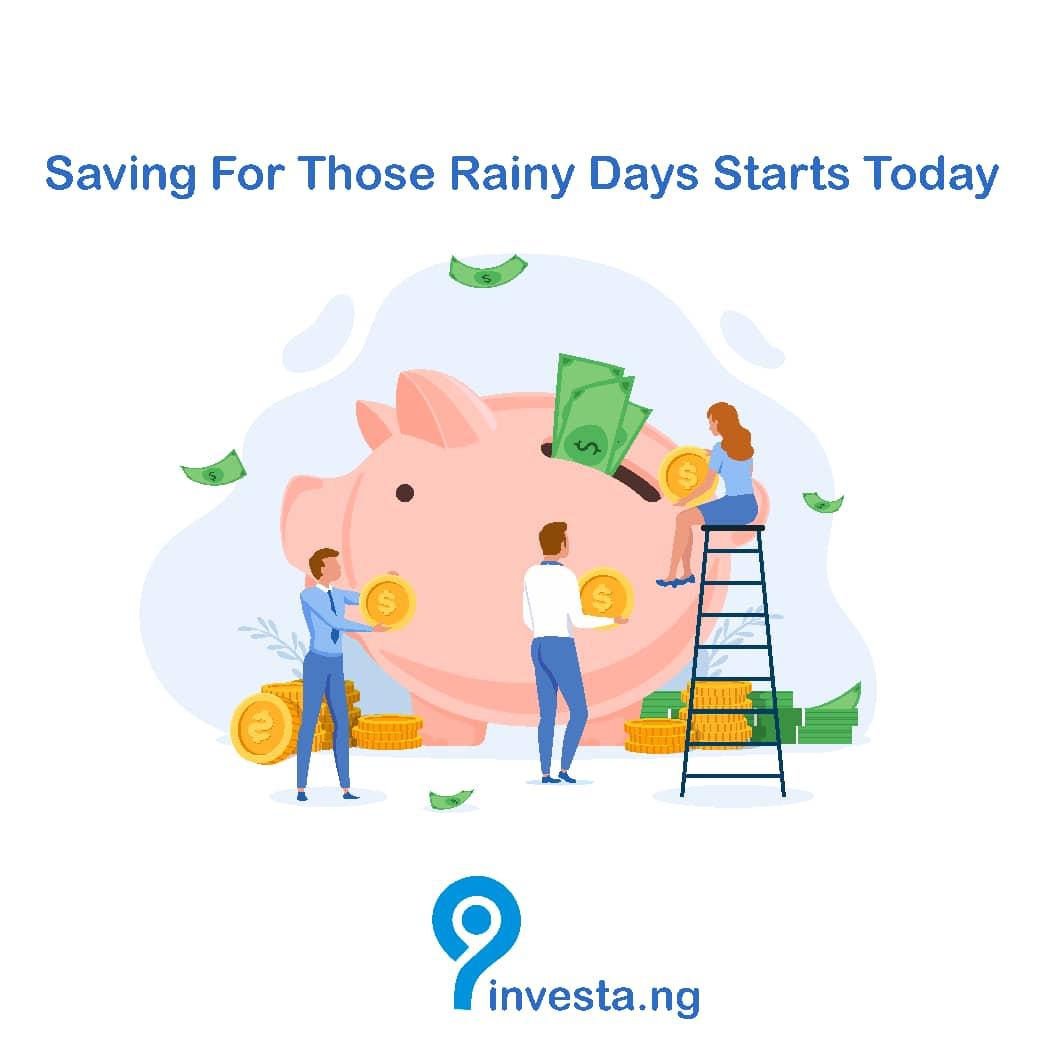 One of the ways to avoid financial burdens is by saving aside some certain amount for rainy days and Investa.ng has got you covered. Just choose any of your preferred plan and start to save . Sign up today if you havent already! #ThursdayThoughts #savings