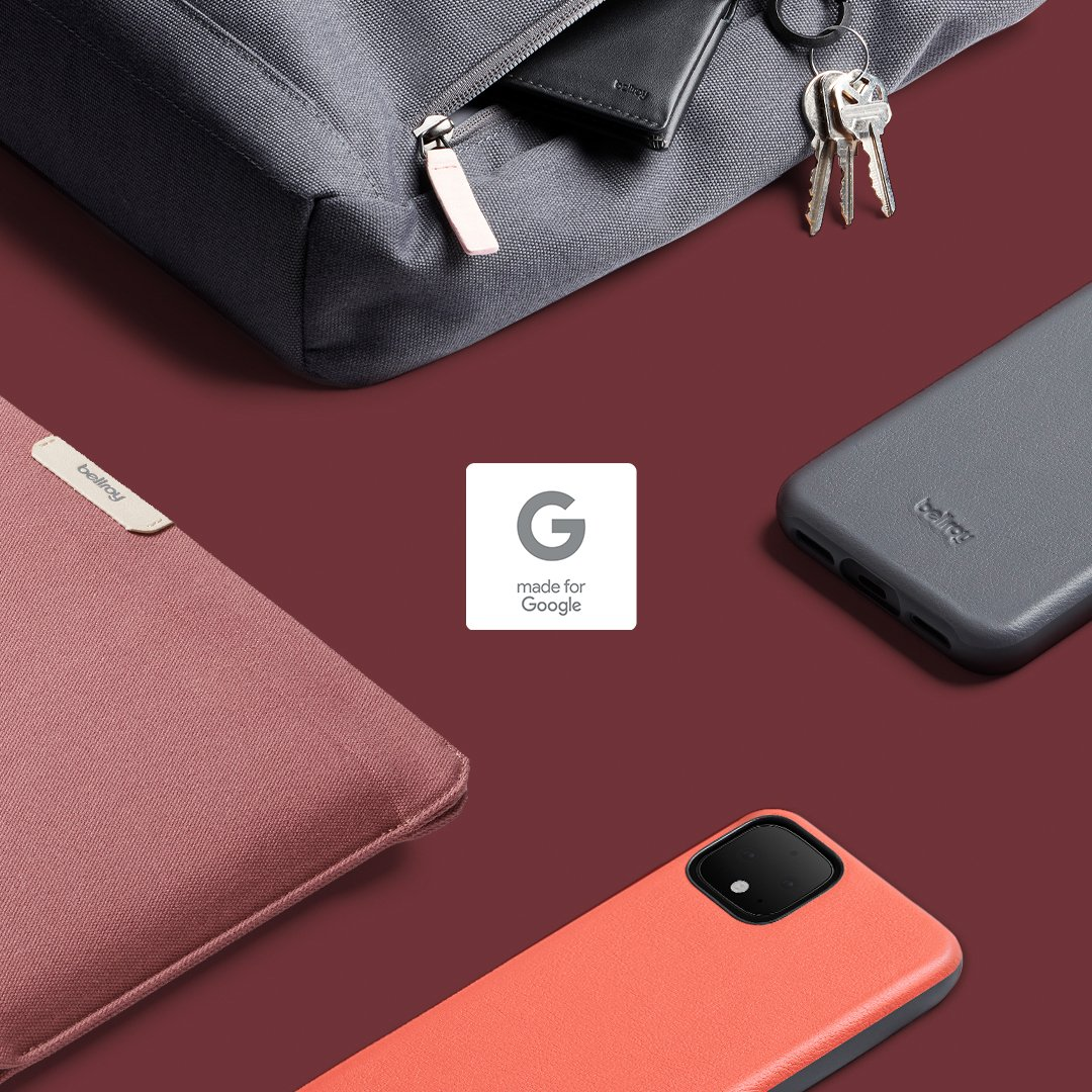 We're thrilled to announce our largest #madeforGoogle collection yet! We teamed up with our friends at @Google to create two new bags inspired by the Pixelbook Go, and update our existing favorites too. … Discover our made for Google collection here: https://t.co/tlxkXXwXR4 https://t.co/Ygq03LPMDi