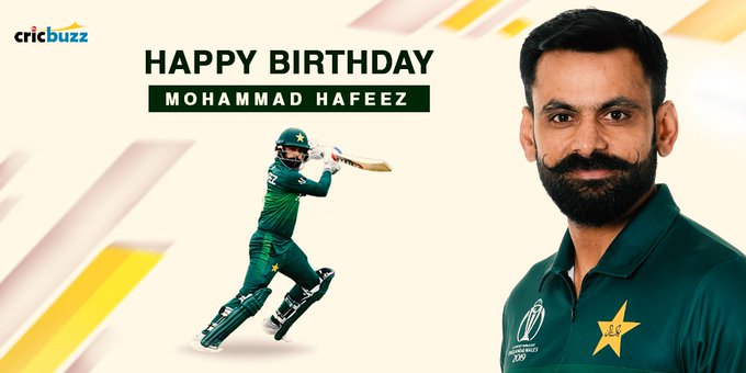 Happy birthday The Pakistan allrounder turns 39 today -