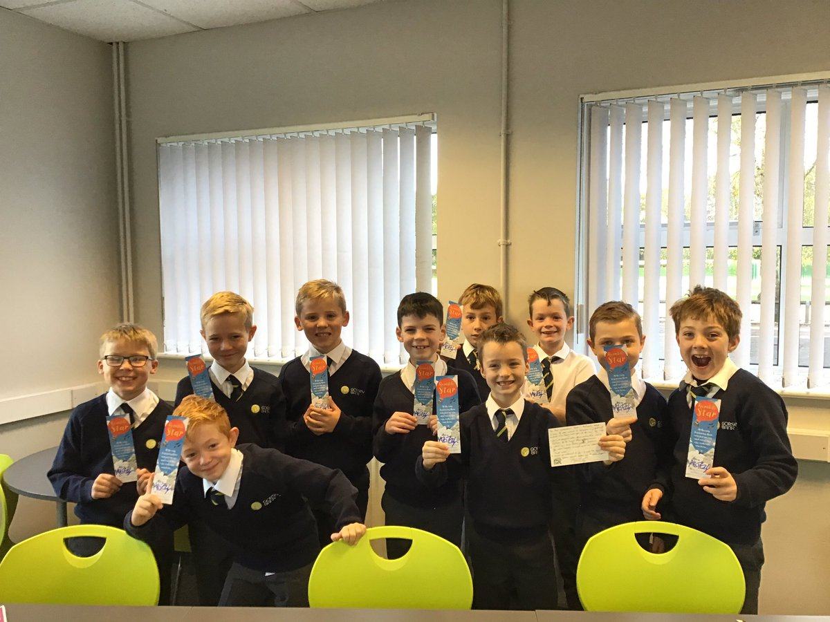 test Twitter Media - Our @authorfy boys are delighted with their personalised message and signed bookmarks from @moontrug - we agree with your top 3 tips, one member already carries his notebook everywhere with him! #gorseyenglish https://t.co/CAFqDGFPgr