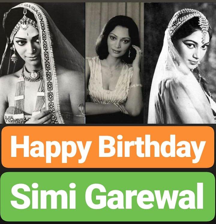 HAPPY BIRTHDAY  Simi Garewal