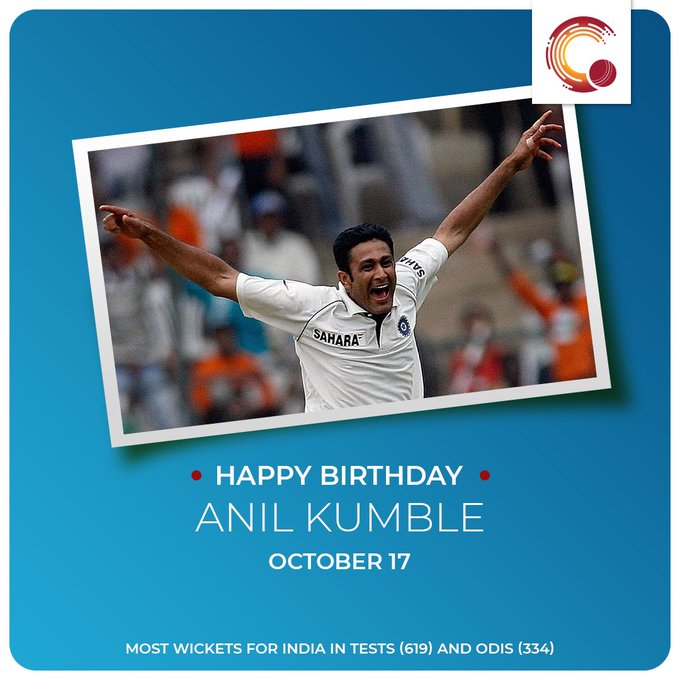 Happy Birthday to Anil Kumble, Aravinda de Silva and Mohammad Hafeez!