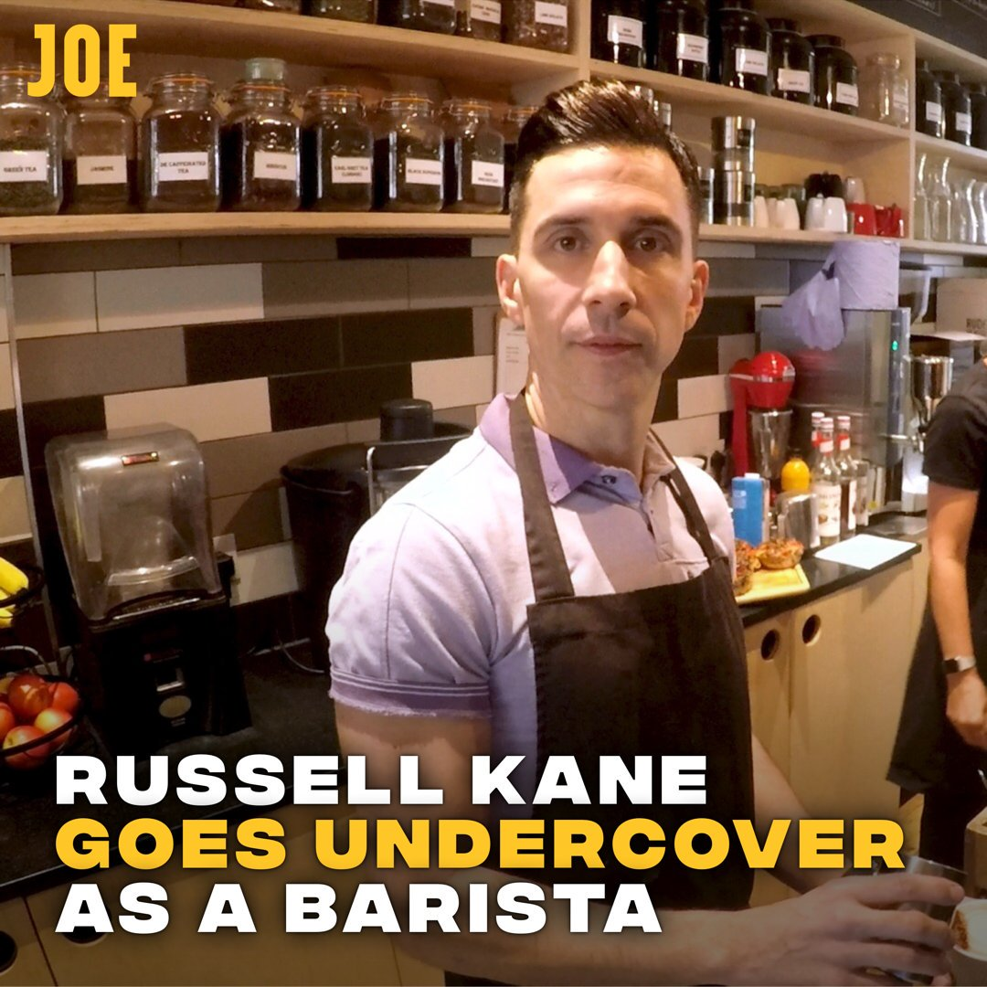 If you do it again, you break down their defences a little bit. One in four people struggle with their mental health, so @russell_kane went undercover as a barista to explain why its always better to ask twice. #AskTwice w/ @TimetoChange