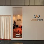 Our @CheckPointOrg room at #EGX is open. Come by to relax and get away from the hustle and bustle - we have ear defenders and a bonfire !
