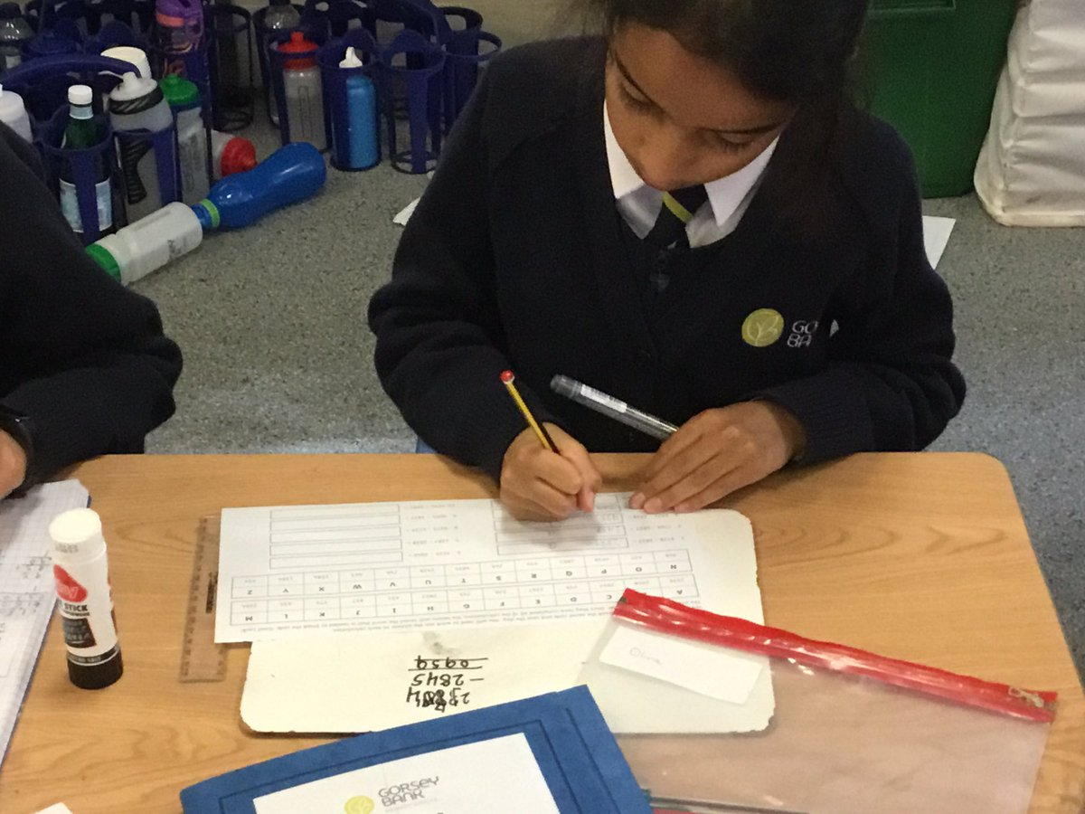 test Twitter Media - We have enjoyed looking at a code breaker activity with addition and subtraction in maths this morning. #gorseymaths https://t.co/YqdV7uKPBf
