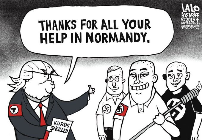 Операция Peace Spring в карикатуре