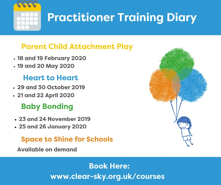 test Twitter Media - We have a packed Practitioner training diary for the next 6 months. Please see details below of our upcoming Attachment Play courses; hosted here at our lovely Oxfordshire HQ or available to take as whole courses off site. Book here: https://t.co/Ve0DIQBKBA #powerofplay https://t.co/BSYQIi9awe