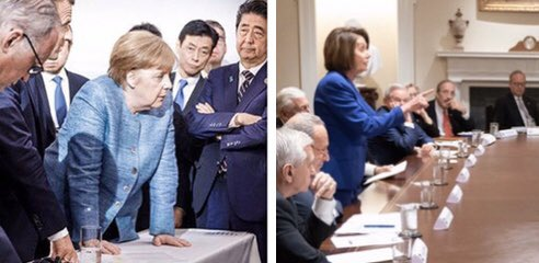 Replying to @dumptrump33: Yesterday wasn't the first time Trump had his ass handed to him by a powerful woman.
