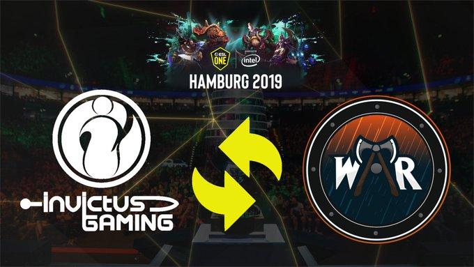 Invivtus Gaming ESL One Hamburg 2019