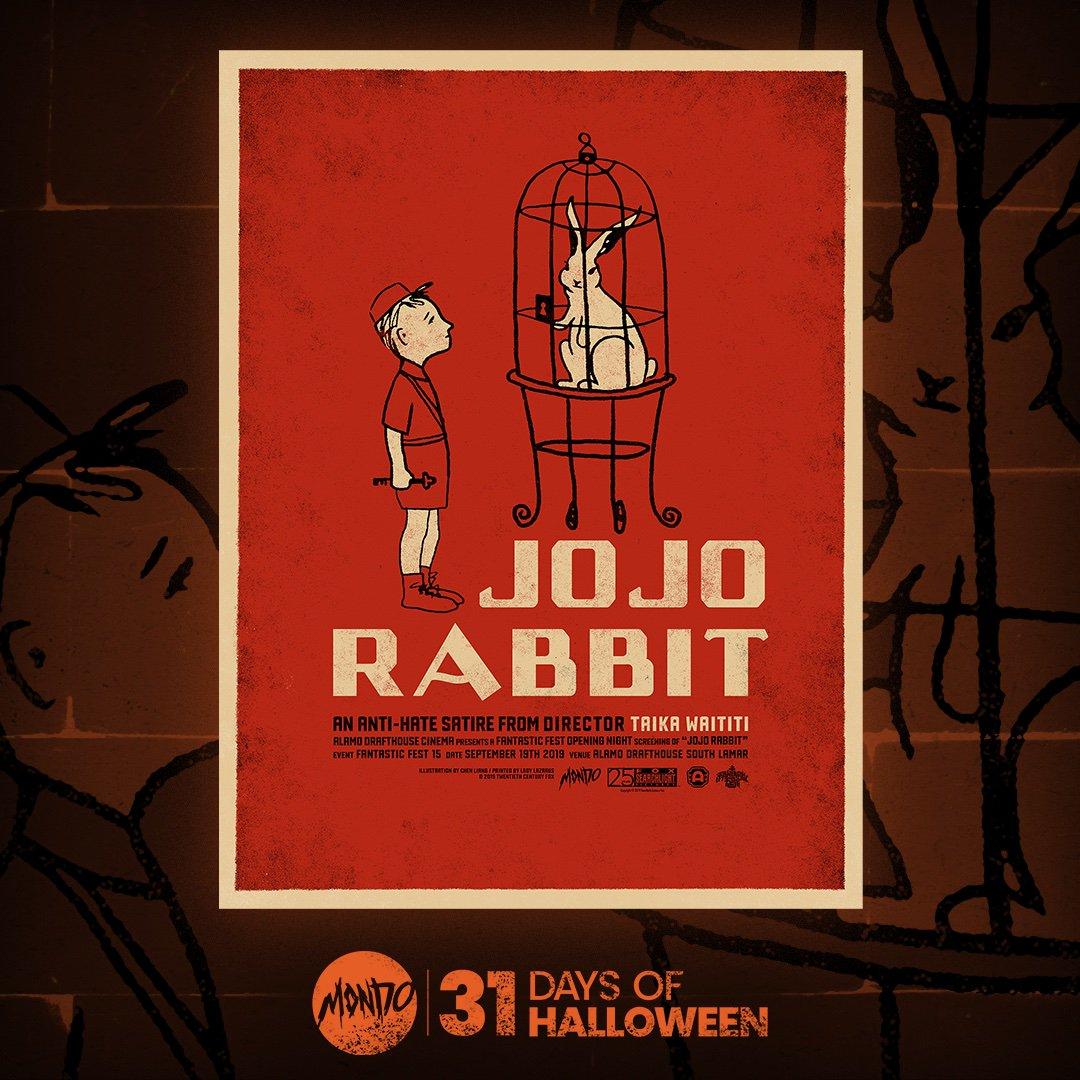 Jojo Rabbit Poster >> Mondo On Twitter Be Quick Like A Bunny The Vast Of Night