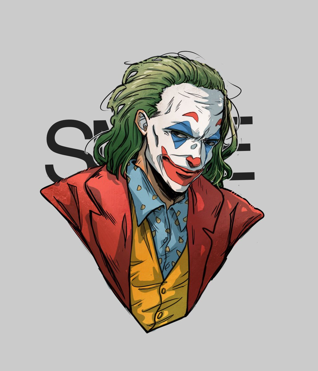 Batviolett On Twitter Smile Some Next Joker Fanart Hope You Enjoy Joaquinphoenix Joker Dc Fanart