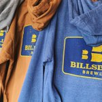 Grab a beer and stay warm with our new thick and soft Billsburg Brewery hoodies! For sale in our taproom now! 🍂🍻