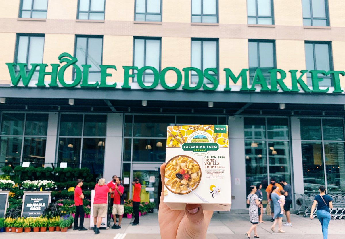 What could be better than free samples before shopping? 🙌 The truck will be rolling in to @WholeFoods Carrollwood tomorrow from 12-2PM. https://t.co/u3RsOKHAa7 #GoodFoodVibesTampa #Tampa #cascadianfarm #wholefoods #alwaysorganic https://t.co/plViFDbaEp