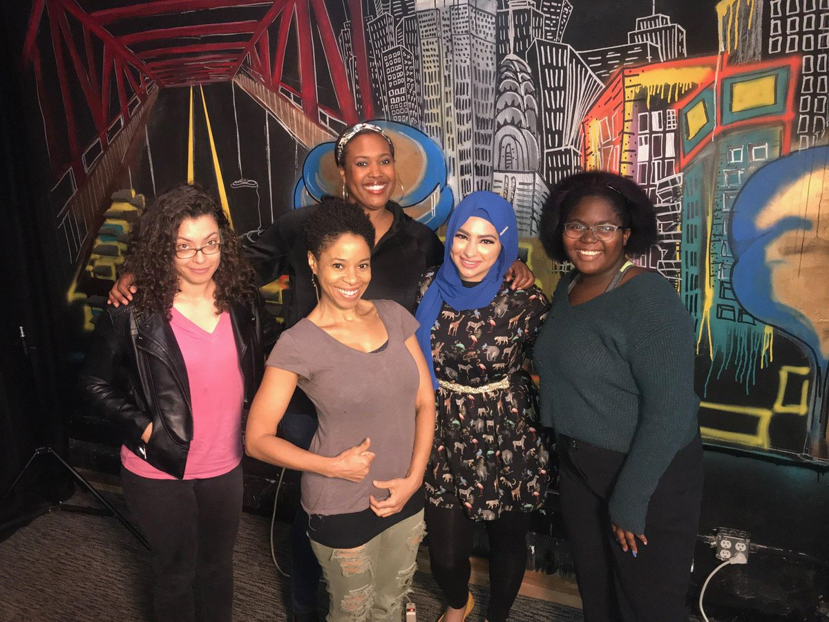 This week on #FriendsLikeUs we talk about being a rookie in comic v.s a veteran, being a woman in comedy & so much more w/  @miacomedy @meldiazcomedy Nina Kharoufeh and our host @marinayfranklin #CheckUsOut http://ow.ly/apUX50wNKww #Subscribe http://ow.ly/W4TD50wNKwx
