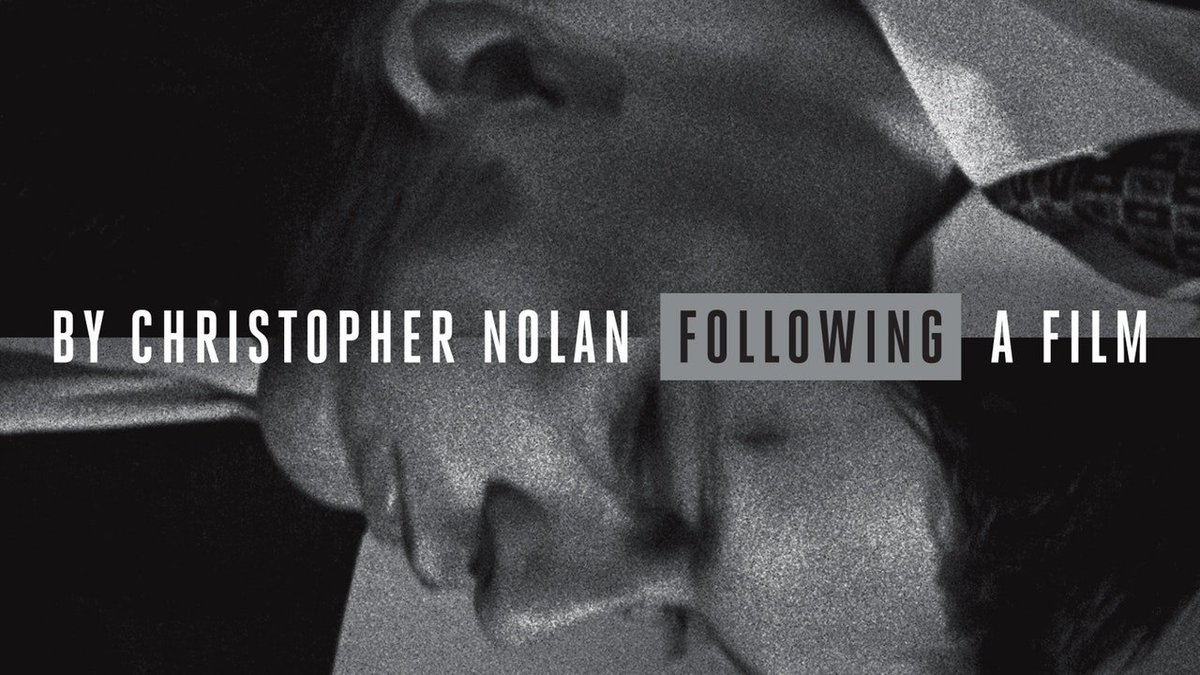For his debut, Christopher Nolan fashioned a low-budget, 16mm black-and-white neonoir with precision and cunning. FOLLOWING (1999) is a mind-bending psychological journey that shows the remarkable beginnings of one of todays most acclaimed filmmakers. criterionchannel.com/following