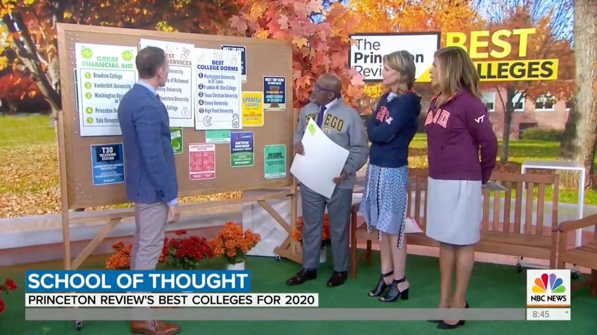 Who else saw the TODAY Show this morning⁉️ Did you catch that HPU shout out? We were recognized for our dorms, which are ranked best in the nation by The Princeton Review! 🛏💜 #HPU365
