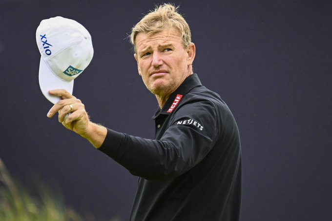 It s the BIG 5-0 for Happy birthday to 2004 winner Ernie Els.