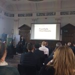 Image for the Tweet beginning: First presentation tonight from @BritishBBank