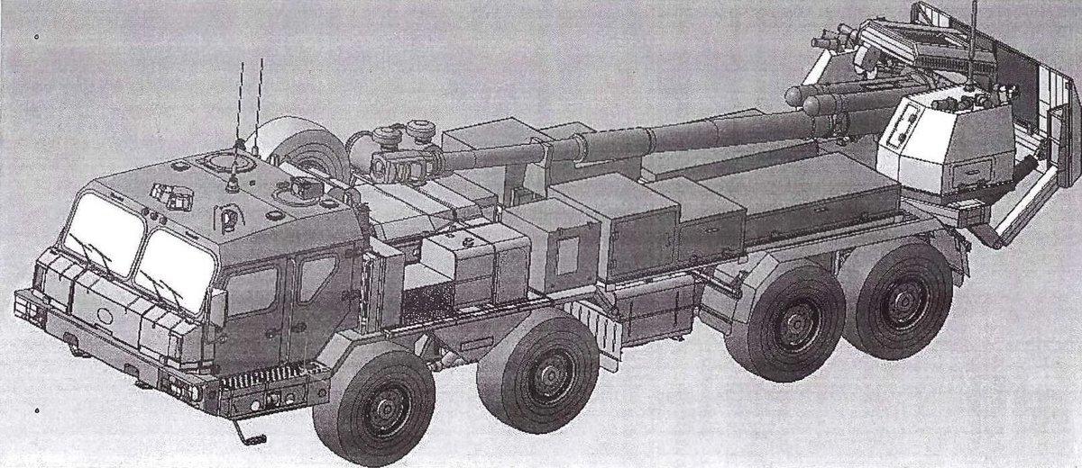 "2S43 ""Malva"" 152-mm SP howitzer EHF7WDKX0Acp_eV"