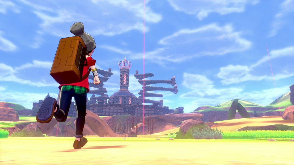 The Pokemon Company estimates that Pokemon Sword/Shield's Wild Area is about the size of two regions from Zelda: Breath of the Wild https://nintendoeverything.com/the-pokemon-company-estimates-that-pokemon-sword-shields-wild-area-is-about-the-size-of-two-regions-from-zelda-breath-of-the-wild/…