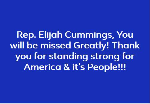 @RepCummings #StrongerTogether @HouseDemocrats @HouseGOP @SenateDems @SenateGOP
