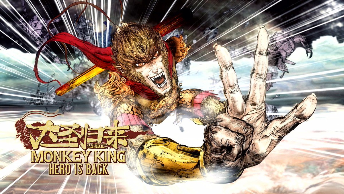 A kung-fu adventure of mythical proportions unfolds in Monkey King: Hero Is Back, out now on PS4: http://play.st/2qfUTCA