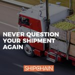 Image for the Tweet beginning: With ShipChain, data about your