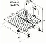 Image for the Tweet beginning: KT750E stainless steel carcass bandsaws.