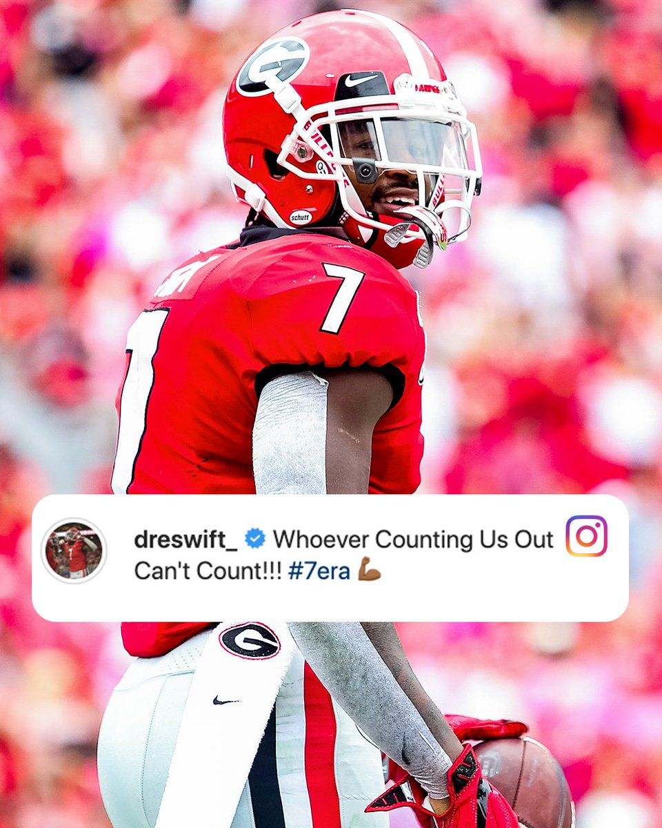 DAndre Swift has a message for the doubters 🤫