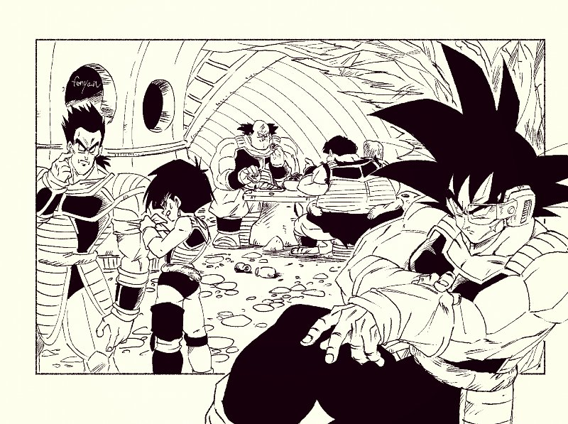 Images découvertes [Fanarts Dragon Ball] - Page 6 EHFRvAKUUAAZpyv?format=jpg&name=900x900