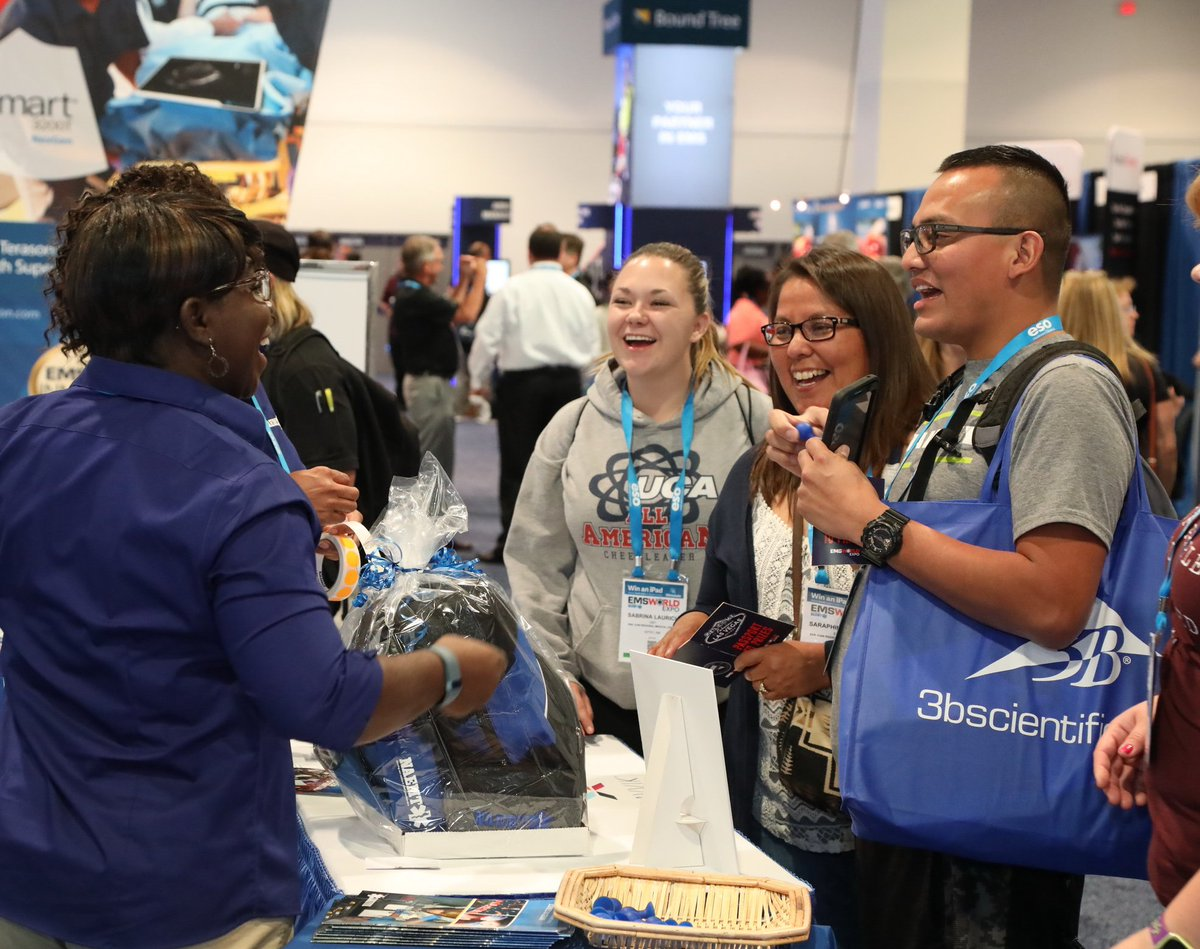 All EMS World Expo attendees are welcome to visit the NAEMT booth (#1029) to receive a warm welcome and the latest association news. Ask us about the special promotion going on now!