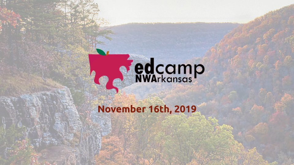 Registration is now LIVE for #EdCampNWA! edcampnwa.org #edcamp