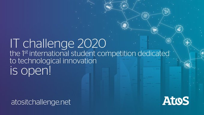 We announce the launch of the 2020 #AtosITChallenge, this year's theme is:...
