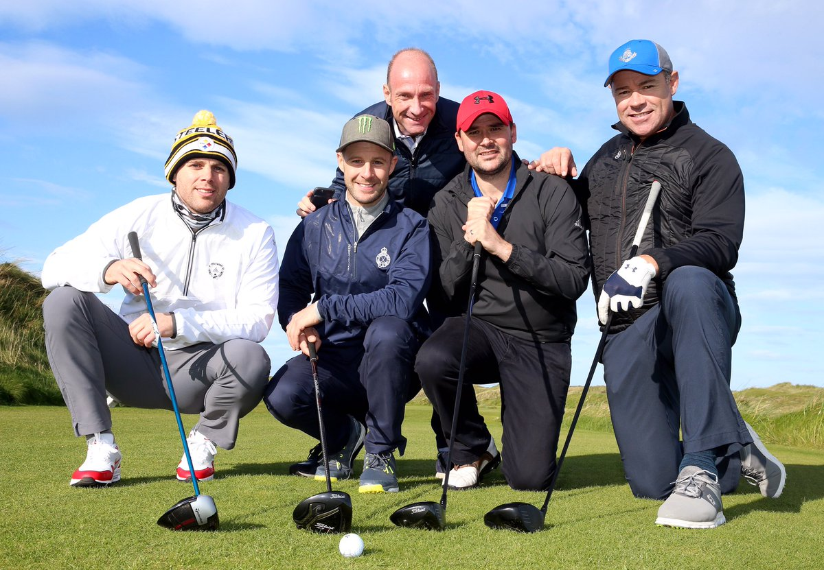 Thank you to everyone who supported the NI Children's Kidney Fund golf day at @royalportrush. Overwhelmed to have raised an amazing £25000 for the charity!