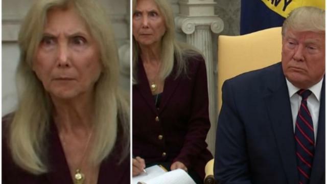 Trump parla e la faccia della traduttrice fa il gi...