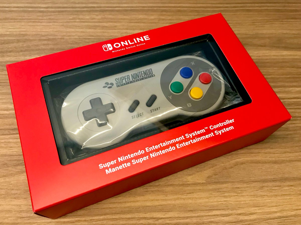 To celebrate hitting 1K followers & to show my appreciation I am giving away one brand new exclusive EU Switch SNES PAL controller.  #Giveaway is worldwide.  Rules :  Follow @nes1up & @SwitchLib  Retweet & Like  Tag a friend  Winner announced Oct 31st! #SwitchCorps <br>http://pic.twitter.com/nPKjojYD9t