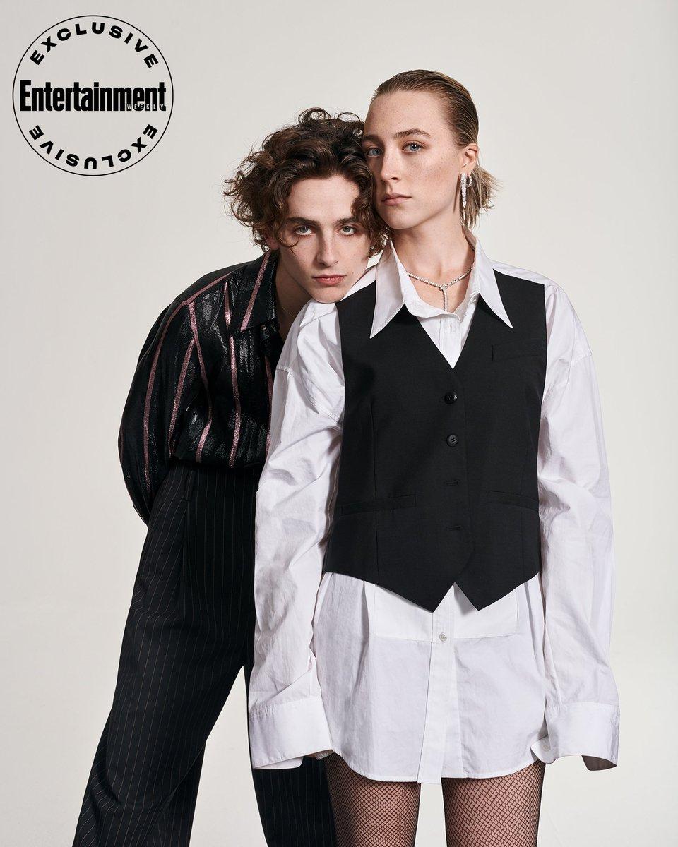 こういうの見るとティモシー・シャラメ氏はやっぱりこんなところに妖精が????????🤔🤔🤔🤔🤯って感じですね!!!!!!🙏✨✨✨✨✨HQ 1800×2250Modern Love: See gorgeous portraits of Saoirse Ronan and Timothée Chalamet at EW'sLittle Womencover shoot