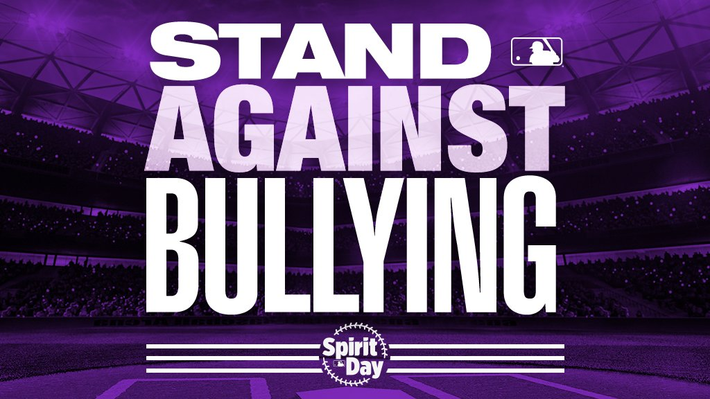 On #SpiritDay and every day, MLB supports inclusion and stands against LGBTQ bullying.