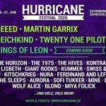 Image for the Tweet beginning: KOL x @hurricanefstvl SUNDAY, JUNE 21st ON