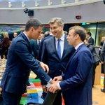 Image for the Tweet beginning: Na sastanku #EUCO danas raspravljamo