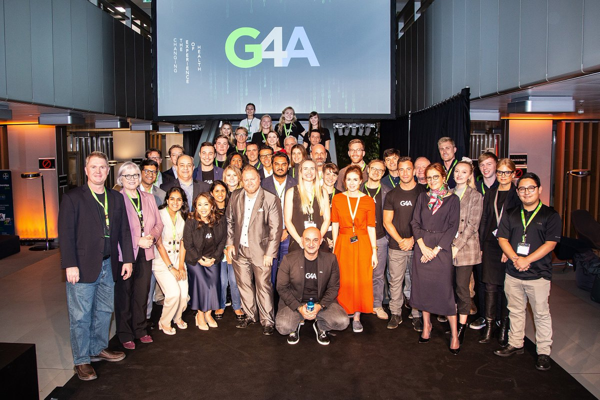 Wow! What a week #G4A had last week! Pitch coaching, #G4AReloaded Signing Day w @GlenTullman fireside chat, #digitalhealth inspiration with #entrepreneurs! We are SO EXCITED 🤩 to work with our new #partners! https://t.co/WbrhO1Jcdl