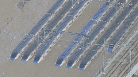 1000RT:【調査結果】浸水の北陸新幹線、電気系統に重大被害で使用困難浸水車両をそのまま運転に使うのは困難で、JR東日本は台車など一部の再利用か、新たに車両を製造することを含め検討する。