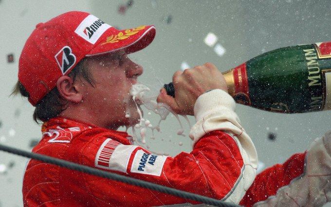 Happy 40th birthday to Kimi Raikkonen!