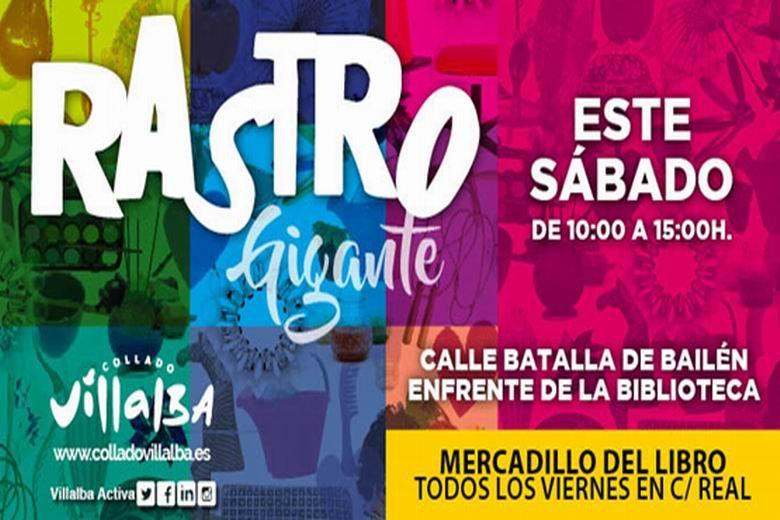 El 'Rastro Gigante de la Sierra' llega este sábado a #ColladoVillalba - https://t.co/FA15PH9U0J @AyuntamientoCV https://t.co/8S3Eht3Ilk