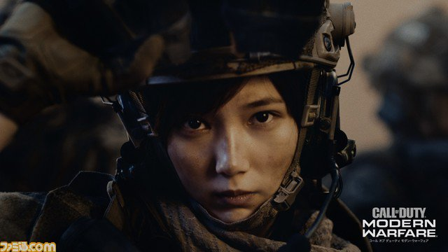 本田翼が兵士姿で戦場を駆け巡る『CoD:MW』新テレビCMが公開! 初の兵士姿に「(装備が)重いっ!(笑)」とコメント