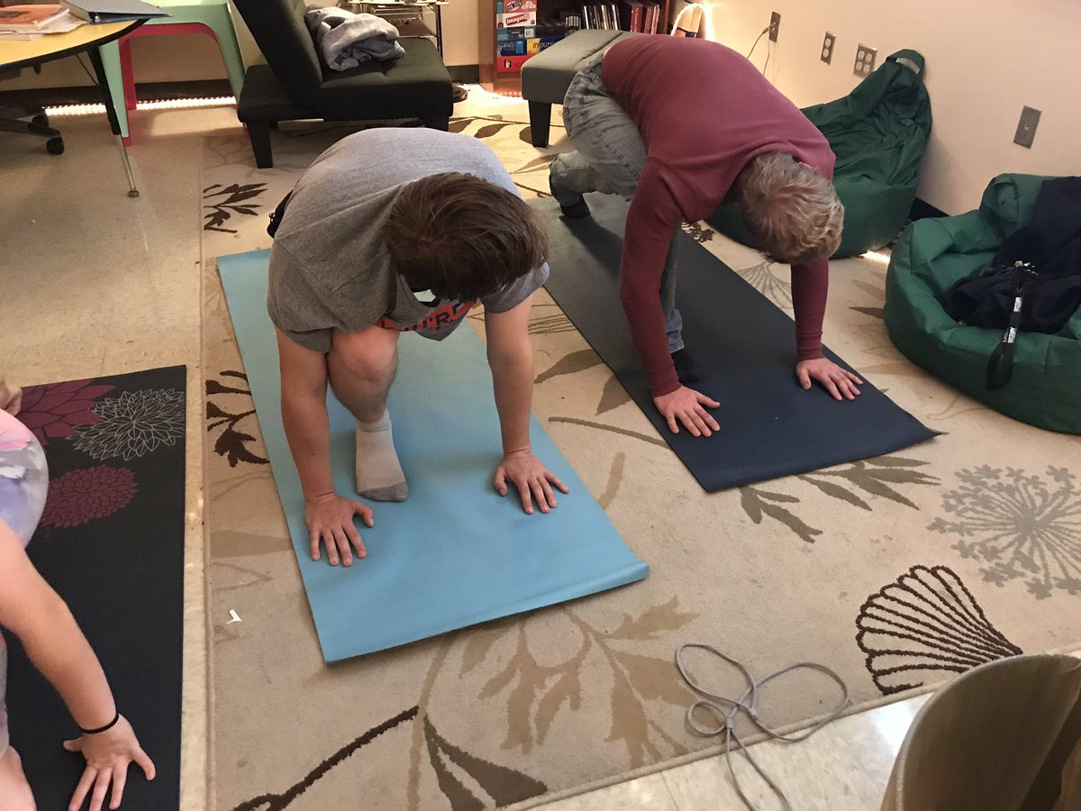 Yoga-stree release #psychologyclass #lhsbulldogchallenge