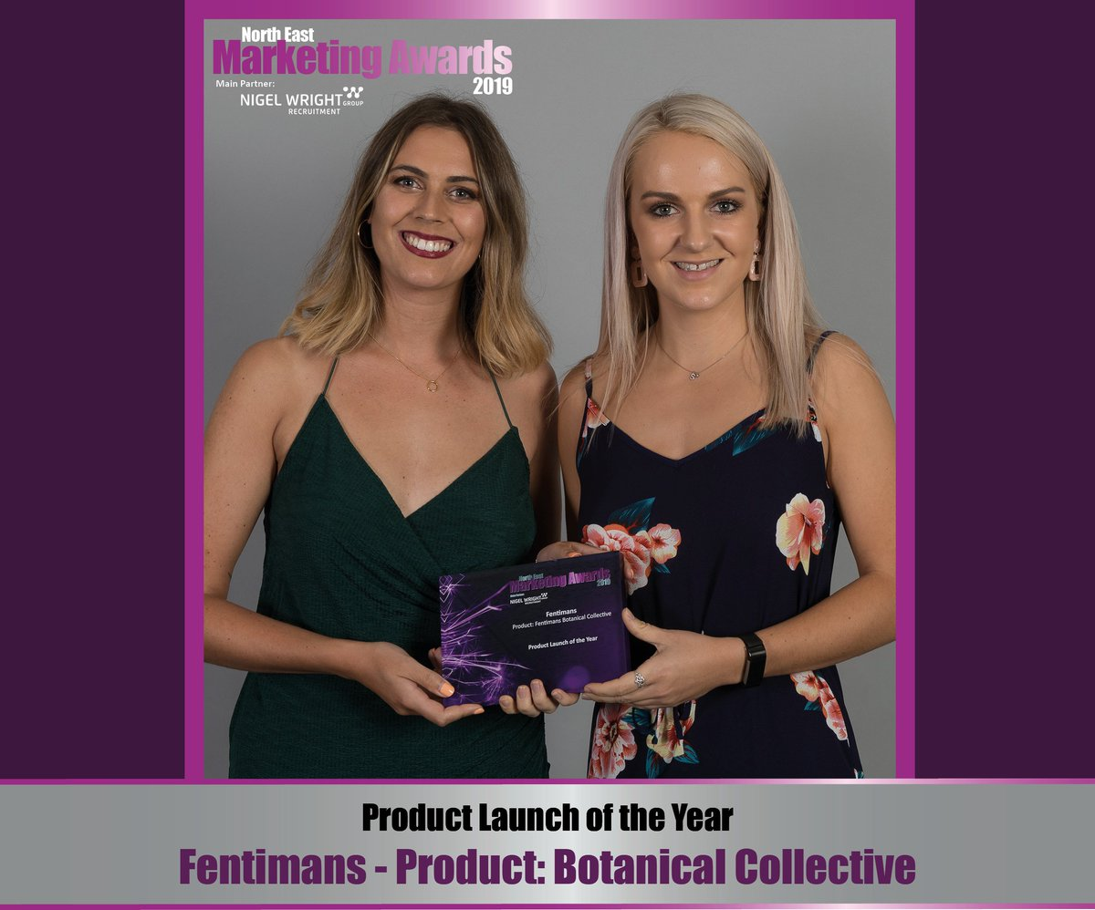 The Botanical Collective by @FentimansLtd was a winner with the judges and walked away with Product Launch of the Year! #NEMA2019 #oneweekon #tbt