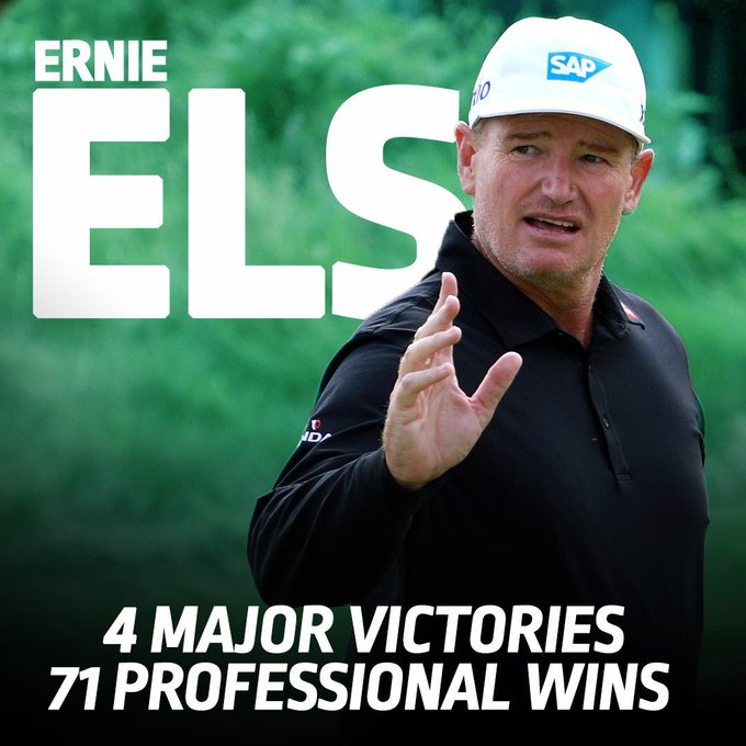 Ernie Els turns  today...       Happy Birthday Ernie!